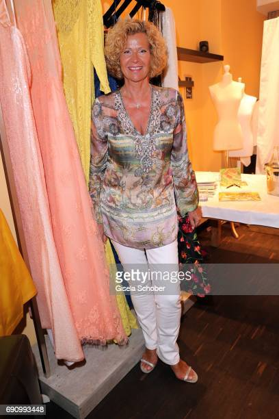 Gabriele 'Gaby' von Thun during the charity shopping night at CE design store on May 31 2017 in Munich Germany