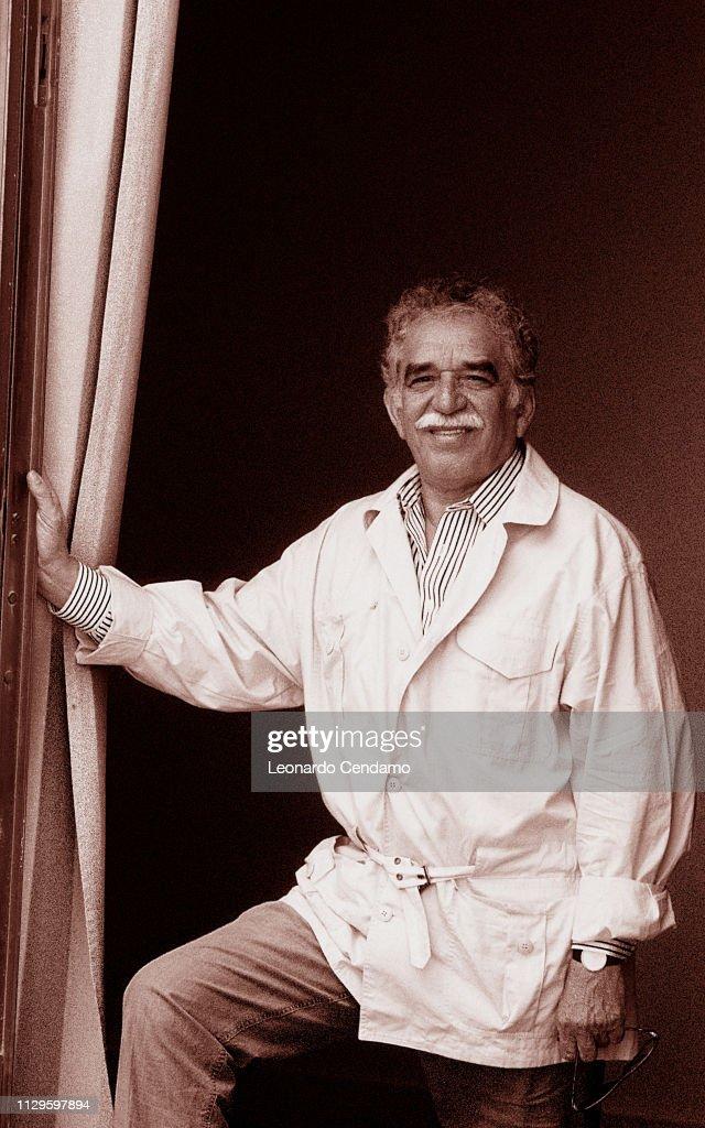 Gabriel Garcia Marquez Columbian Writer Nobel Prize For Literature 1982 : News Photo