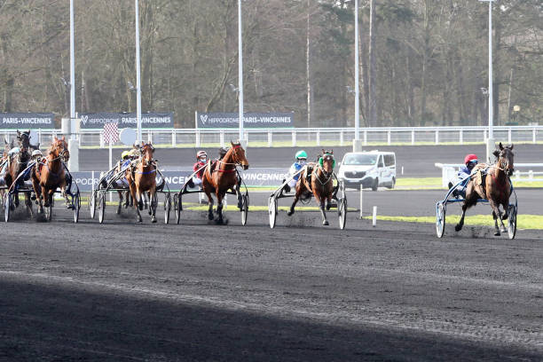 FRA: Horse racing - Vincennes meeting