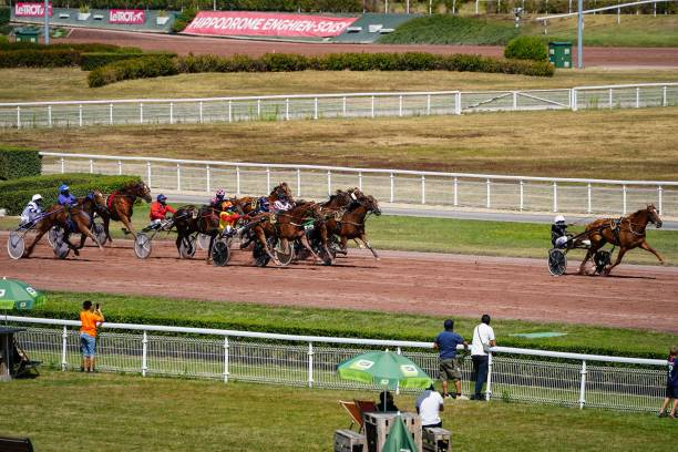FRA: Horse racing in Deauville