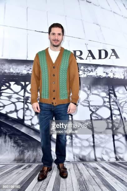 Gabriele Mainetti attends the cocktail reception to present Prada Resort 2018 collection on December 14th 2017 in Prada's Via dei Condotti stores Rome