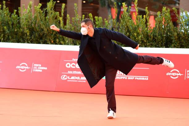 ITA: Gabriele Mainetti Red Carpet - 15th Rome Film Festival 2020