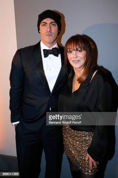 Gabriele Moratti and Babeth Djian attend the Annual Charity Dinner hosted by the AEM Association Children of the World for Rwanda at Pavillon Ledoyen...