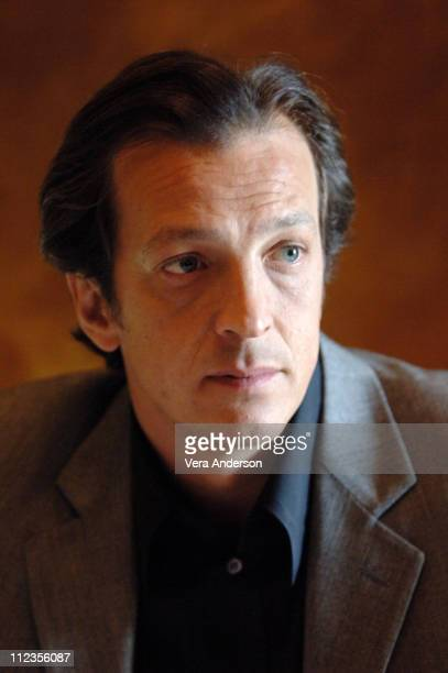 Gabriele Muccino director during 'The Pursuit of Happyness' Press Conference with Thandie Newton Gabriele Muccino and Chris Gardner at Waldorf...