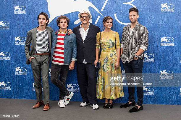Gabriele MuccinoBrando Pacito Matilda Lutz Taylor Freyand Joseph Haro attend a photocall for 'L'Estate Addosso Summertime' during the 73rd Venice...