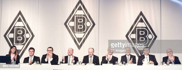 Gabriele Onkelbach and Dieter Hecking and Max Eberl and Stephan Schippers and Rolf Konigs and Siegfried Solle and Rainer Bonhof and Hans Meyer and...