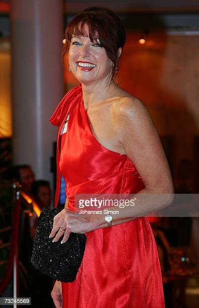 Gabriele Pauli arrives at the German Media Awards at the Congress Hall on February 7 2007 in BadenBaden Germany