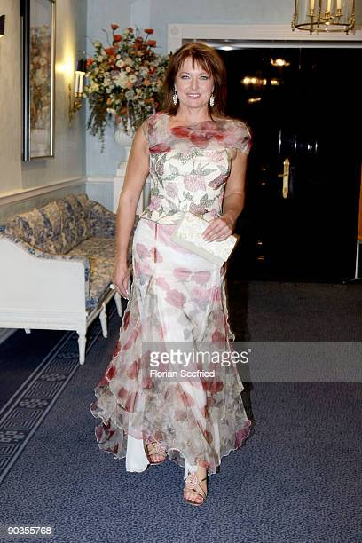 Gabriele Pauli attends the 'UNICEFGala' at Park Hotel on September 5 2009 in Bremen Germany