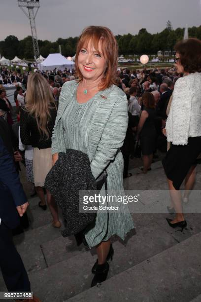 Gabriele Pauli during the Summer Reception of the Bavarian State Parliament at Schleissheim Palace on July 10 2018 in Munich Germany