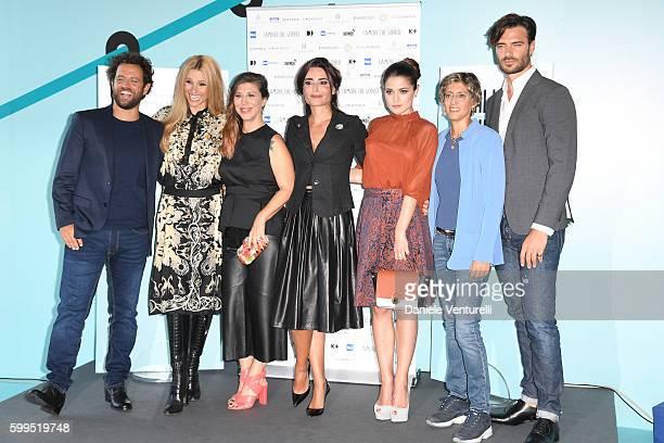 Gabriele Pignotta and Michelle Hunziker, Michelle Hunziker, Michela Andreozzi, Mia Benedetta, Giulia Electra Goretti, Giulia Bongiorno and Giulio...