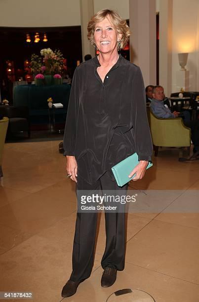 Gabriele Quandt Langenscheidt during the presentation of the book 'Zu Gast in Griechenland Rezepte Kueche Kultur' at 'The Charles' Hotel on June 20...