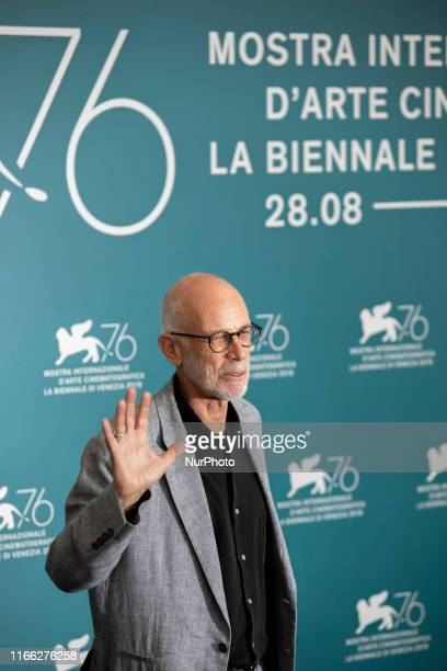 Gabriele Salvatores attends the ''Tutto il mio folle amore'' Photocall during the 76th Venice Film Festival at on September 06, 2019 in Venice, Italy.