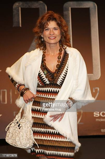 Gabriele Scharnitzky at the Premiere Of '2012' at the Cinestar Sony Center in Berlin