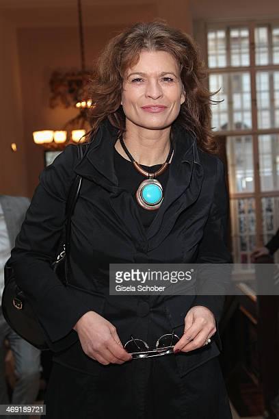 Gabriele Scharnitzky attends the FilmFernsehFonds Bayern reception at Bayerische Landesvertretung on February 13 2014 in Berlin Germany