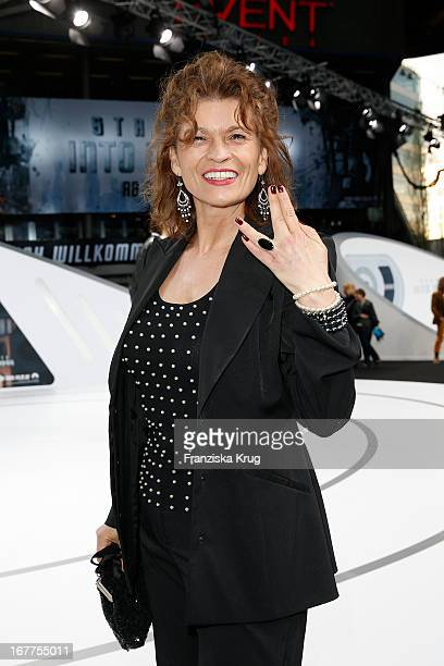 Gabriele Scharnitzky attends the 'Star Trek Into Darkness' German Premiere at Cinestar on April 29 2013 in Berlin Germany