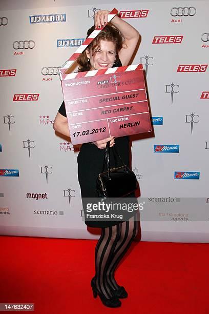 Gabriele Scharnitzky attends the Tele 5 Director's Cut at Hotel Adlon in Berlin on February 17 2012 in Berlin Germany