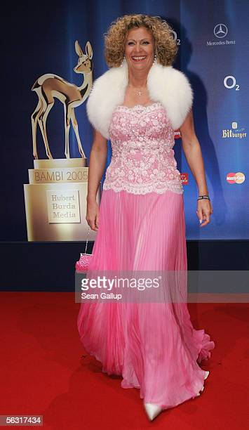 Gabriele von Thun arrives at the Bambi Awards 2005 December 1 2005 at the Messehalle in Munich Germany