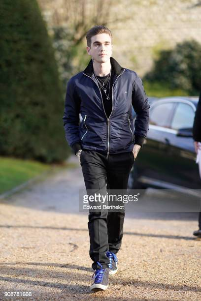 GabrielKane Day Lewis attends the Christian Dior Haute Couture Spring Summer 2018 show as part of Paris Fashion Week on January 22 2018 in Paris...