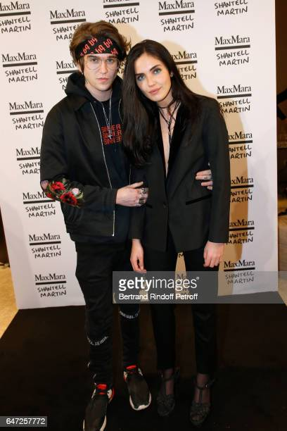 GabrielKane DayLewis and Laura Bensadoun attend the Max Mara 'Prism in Motion' Eventas with the presentation of the new collection Capsule of...