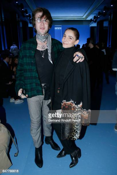 GabrielKane DayLewis and Princess of Savoy Clotilde Courau attend the Haider Ackermann show as part of the Paris Fashion Week Womenswear Fall/Winter...