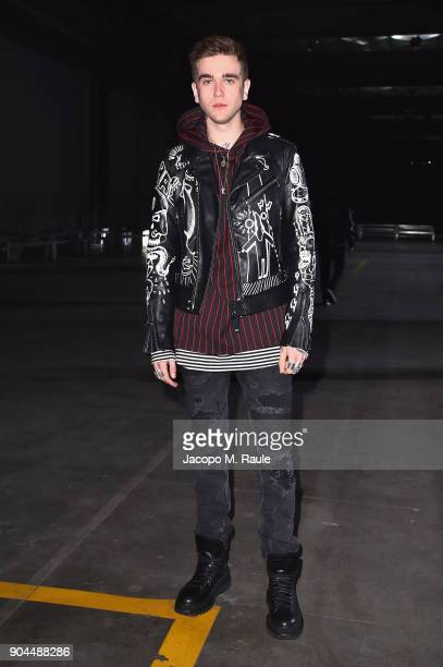GabrielKane DayLewis attends the Diesel Black Gold show during Milan Men's Fashion Week Fall/Winter 2018/19 on January 13 2018 in Milan Italy