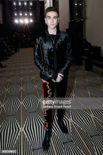 GabrielKane DayLewis attends the Haider Ackermann Menswear Fall/Winter 20182019 show as part of Paris Fashion Week on January 17 2018 in Paris France