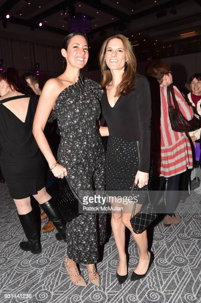 Gabriella Barreto and Brooke Jaffe attend NYU Langone's Playing for Pediatrics Winter Game Night at The Ziegfeld Ballroom on March 8 2018 in New York...