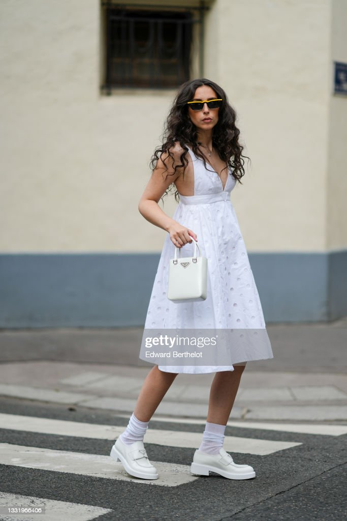 Fashion Photo Session In Paris - July 2021 : News Photo