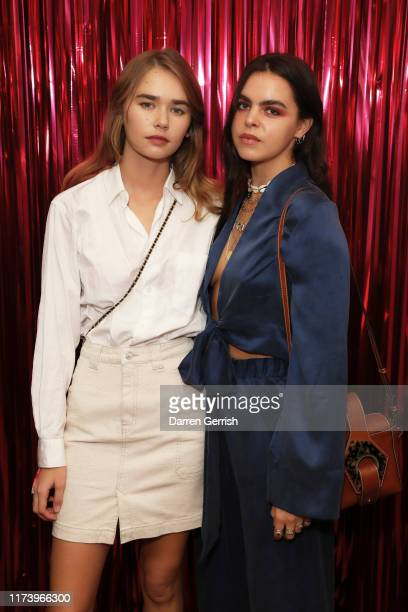 Gabriella Brooks and Bee Beardsworth attend Twilly X Hermes X Laylow on September 11 2019 in London England