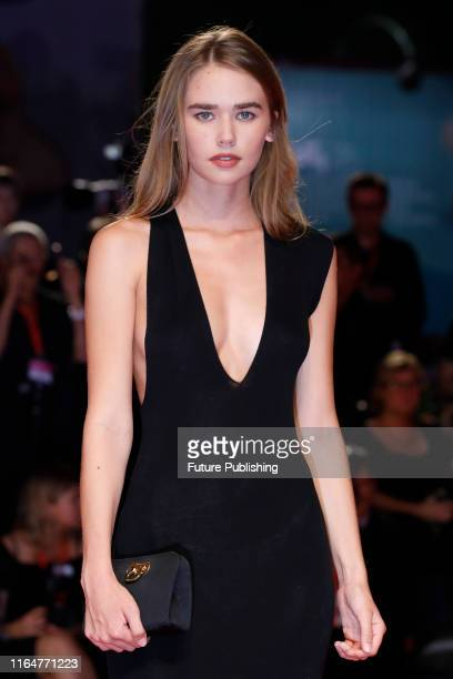 Gabriella Brooks on the red carpet for the screening of 'Ad Astra' during the 76st Venice Film Festival at the Sala Grande on August 29 2019 in...