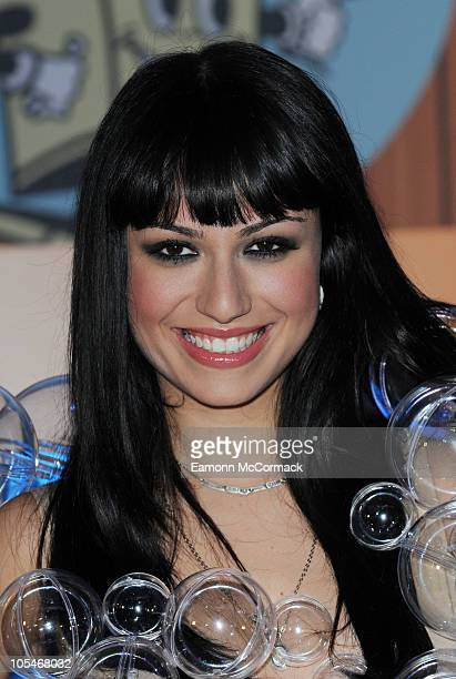 Gabriella Cilmi attends launch for popup launderette at Old Truman Brewery on October 14 2010 in London England