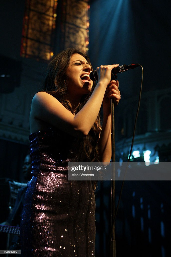 Gabriella Cilmi performs live at Paradiso on May 23, 2010 in Amsterdam, Netherlands.