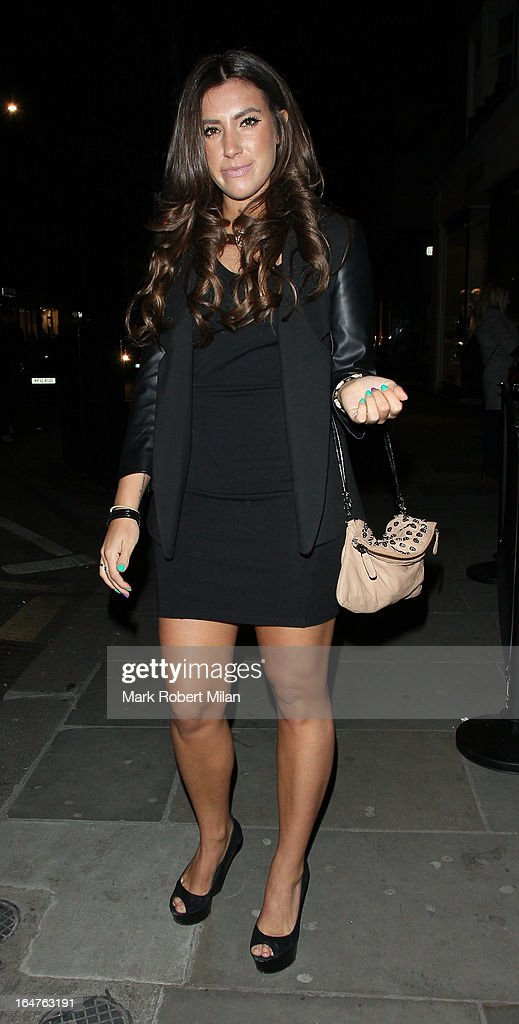 Gabriella Ellis at 151 Kings Road on March 27, 2013 in London, England.
