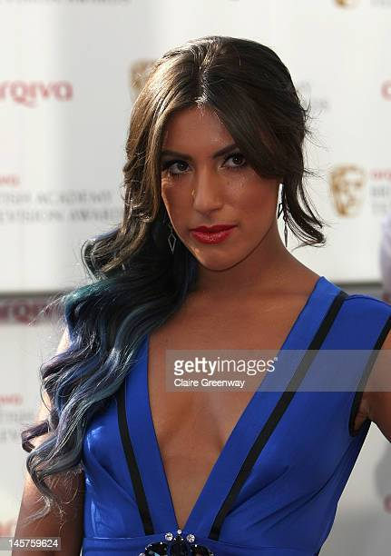 Gabriella Ellis attends The Arqiva British Academy Television Awards 2012 at The Royal Festival Hall on May 27 2012 in London England