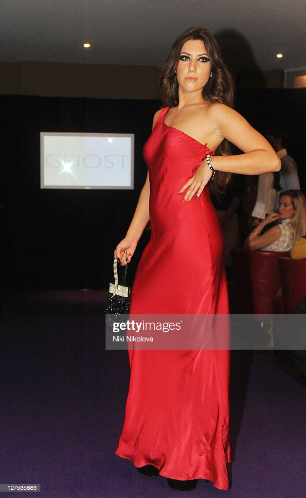 Gabriella Ellis walks the runway during Catwalk @ Kings Road at beaufort house on September 28, 2011 in London, England.