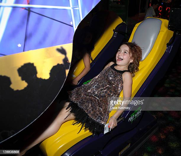 Gabriella Giudice attends Audriana and Gabriella Giudices' birthday party at Space Odyssey on October 9 2011 in Englewood New Jersey