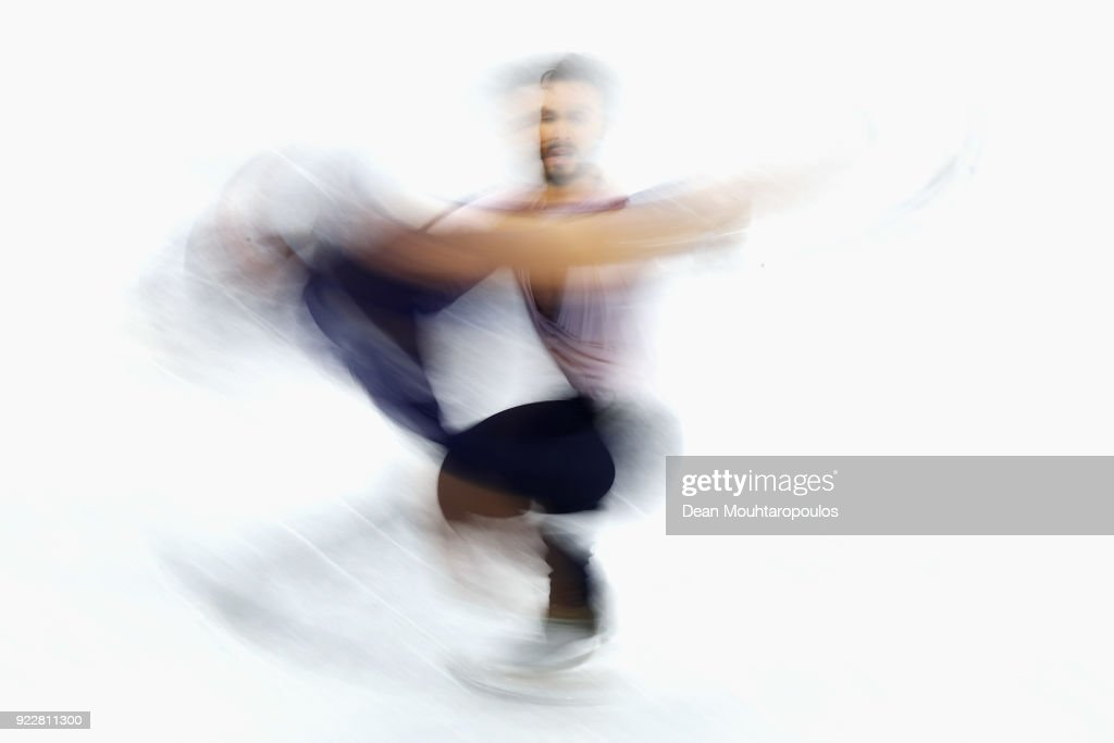 Gabriella Papadakis and Guillaume Cizeron of France compete in the Figure Skating Ice Dance Free Dance on day eleven of the PyeongChang 2018 Winter Olympic Games at Gangneung Ice Arena on February 20, 2018 in Gangneung, South Korea.