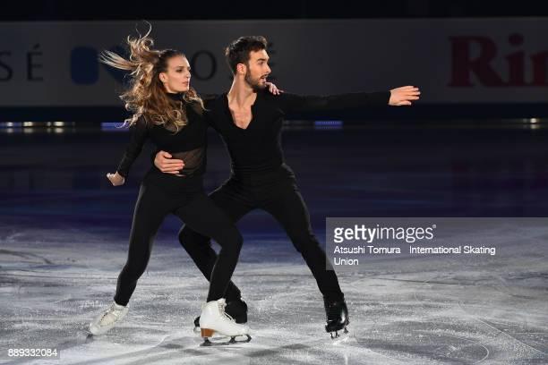 Gabriella Papadakis and Guillaume Cizeron of France perform thier routine in the Gala exhibition during the ISU Junior Senior Grand Prix of Figure...