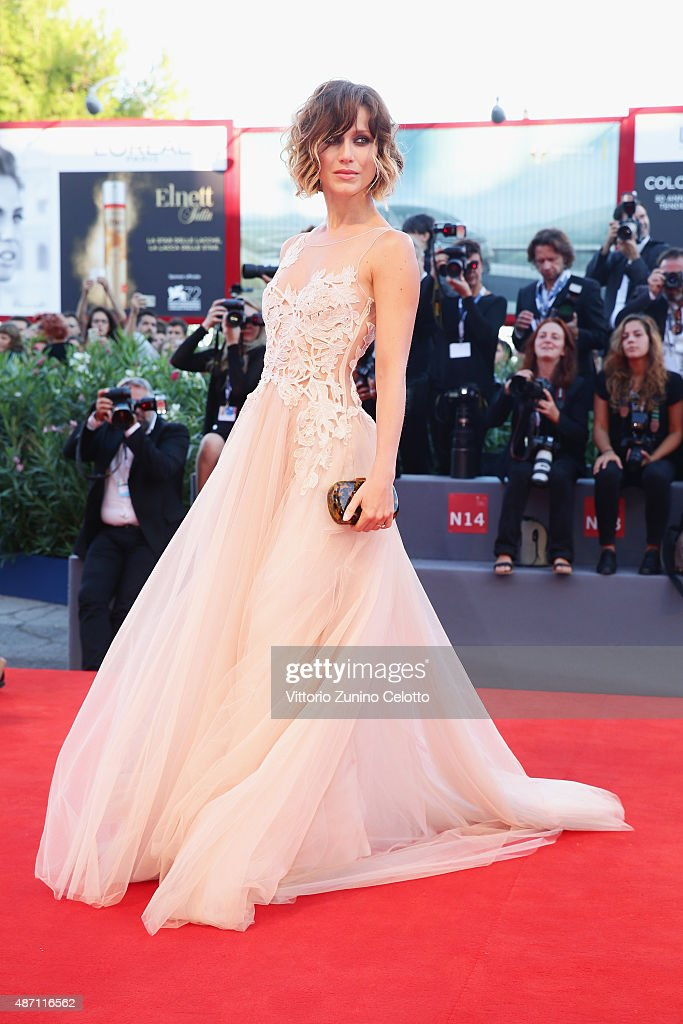 'Kineo Award' Ceremony Arrivals - 72nd Venice Film Festival