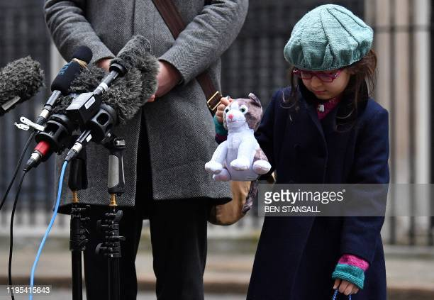 Gabriella Ratcliffe, daughter of Richard Ratcliffe , the husband of British-Iranian aid worker Nazanin Zaghari-Ratcliffe jailed in Tehran since 2016,...