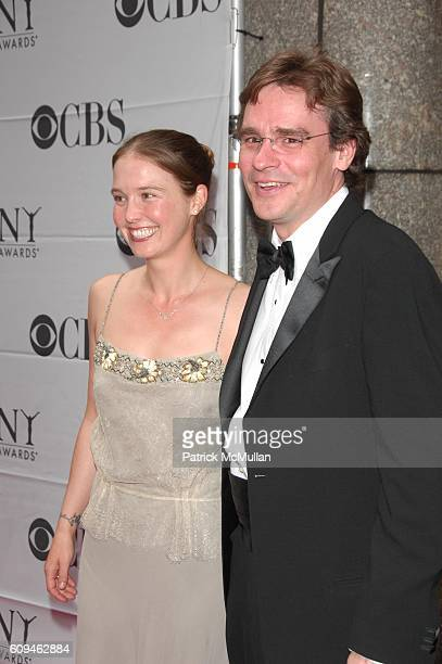 Gabriella Salick and Robert Sean Leonard attend 60th annual TONY AWARDS red carpet arrivals at Radio City Music Hall NYC on June 10 2007 in New York...