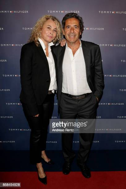 Gabriella Sontheim and Roger Schawinski attend the Tommy Hilfiger VIP Dinner in celebration of the 13th Zurich Film Festival on October 6 2017 in...