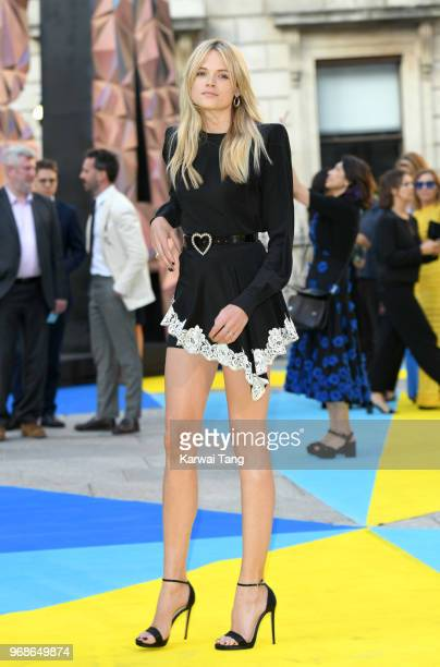 Gabriella Wilde attends the Royal Academy of Arts Summer Exhibition Preview Party at Burlington House on June 6 2018 in London England