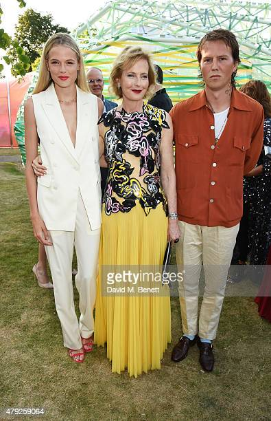 Gabriella Wilde CoDirector of the Serpentine Gallery Julia PeytonJones and Alan Pownall attend The Serpentine Gallery summer party at The Serpentine...
