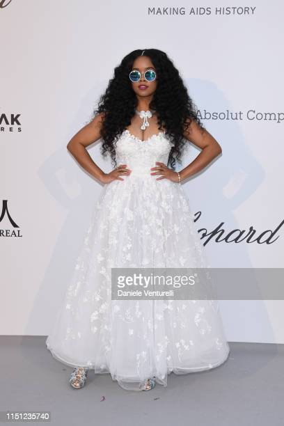 Gabriella Wilson aka HER attend the amfAR Cannes Gala 2019 at Hotel du CapEdenRoc on May 23 2019 in Cap d'Antibes France