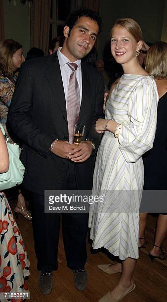Gabriella Windsor and partner Aatish Taseer attend the book launch party of 'A History of the EnglishSpeaking Peoples Since 1900' by Andrew Roberts...