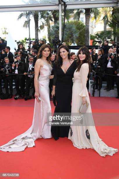 Gabriella Wright and Gisella Marengo Lucila Sola attends the 'The Killing Of A Sacred Deer' screening during the 70th annual Cannes Film Festival at...
