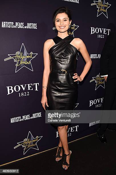 Gabriella Wright attends Hollywood Domino Bovet 1822's 8th Annual PreOscar Hollywood Domino Gala Tournament at Sunset Tower Hotel on February 19 2015...