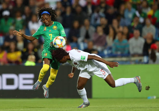 FRA: Canada v Cameroon: Group E - 2019 FIFA Women's World Cup France