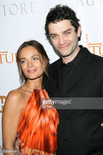 """Gabrielle Anwar and James Frain during """"The Tudors"""" Los Angeles Premiere - Arrivals at Egyptian Theatre in Hollywood, California, United States."""
